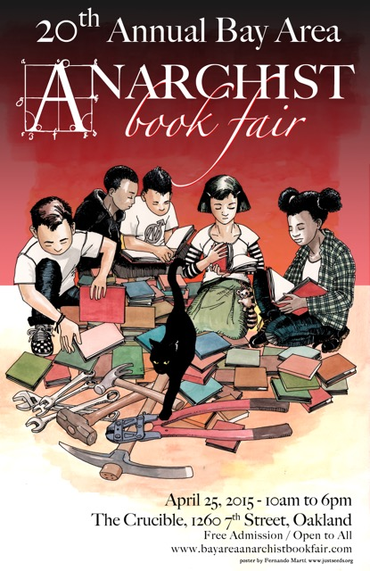 Anarchist Book Fair @ The Crucible | Oakland | California | United States